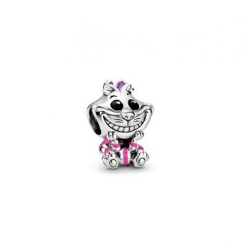 PANDORA Disney Alice Csodaországban vigyorgó macska charm 798850C01