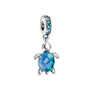 Pandora muránói üveg tengeri teknős függő charm 798939C01