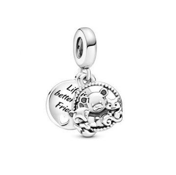 Pandora Medve, róka és mókus függő charm 799078C00