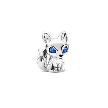 Pandora Kékszemű róka charm 799096C01
