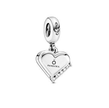 Pandora Hangversenyzongora szív függő charm 799101C01