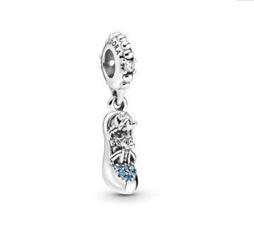 Pandora Disney Hamupipőke üvegcipő és egér függő charm 799192C01