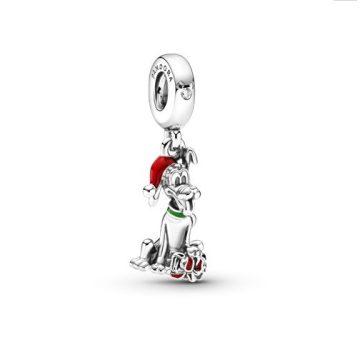 Pandora Disney Pluto karácsonyi ajándék függő charm 799199C01