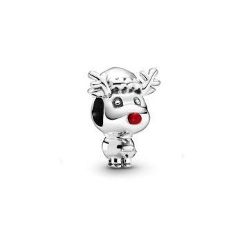Pandora Rudolph a piros orrú rénszarvas charm 799208C01