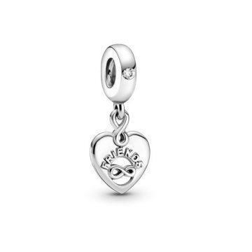 Pandora örök barátok szív függő charm 799294C01