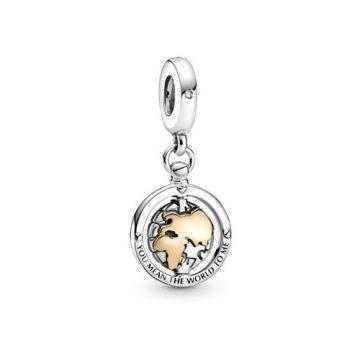 Pandora forgó világ függő charm 799303C01