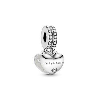 Pandora Lány és anyós osztott függő charm 799321C01