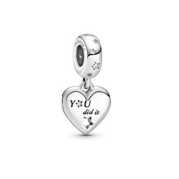 Pandora Gratuláló szív és csillagok függő charm 799323C01