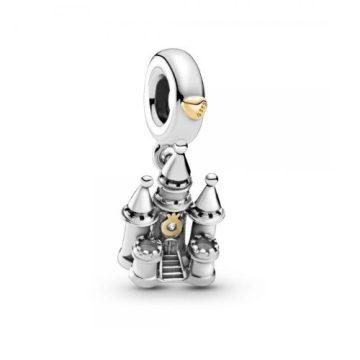 Pandora Kéttónusú kastély függő charm 799337C00
