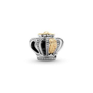 Pandora Kéttónusú királyi korona charm 799340C00
