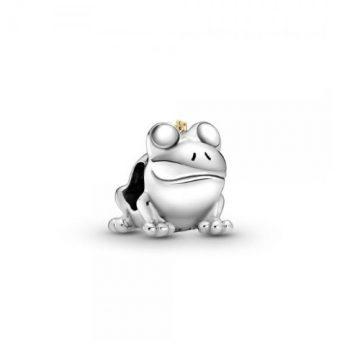 Pandora Kéttónusú békaherceg charm 799342C00