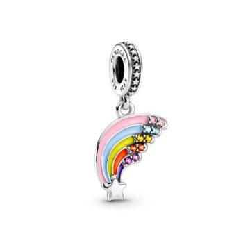 Pandora Színes szivárvány függő charm 799351C01