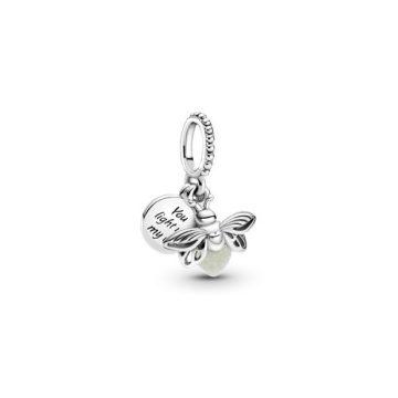 Pandora Foszforeszkáló szentjánosbogár függő charm 799352C01