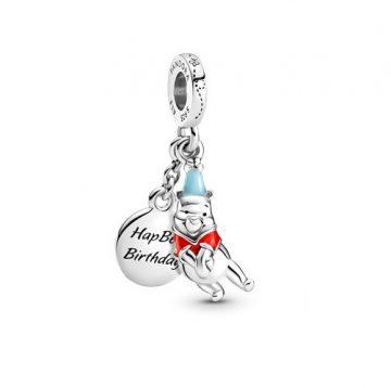 Pandora Disney Micimackó születésnapi függő charm 799385C01
