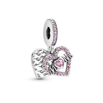 Pandora Szív és Anya függő charm 799402C01