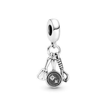 Pandora Spatula, serpenyő és habverő függő charm 799531C01