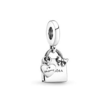 Pandora bevásárlótáska függő charm 799536C00