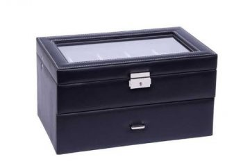 Fekete Varrott óratartó doboz 20 órának 934
