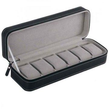 Fekete cipzáros óratartó doboz 6 órának 968
