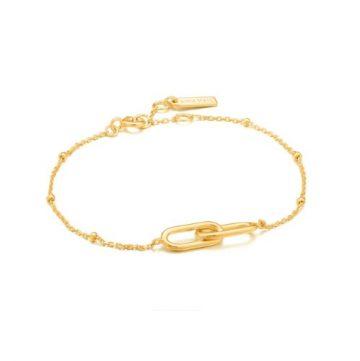 Ania Haie Beaded Chain Link karkötő B021-01G