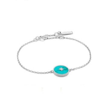 Ania Haie Turquoise Emblem karkötő B022-02H