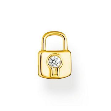 """Thomas Sabo """"gold lock"""" fülbevaló dísz EP016-414-14"""