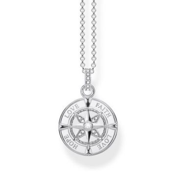 "Thomas Sabo ""compass faith, love, hope"" nyaklánc KE1849-051-14"