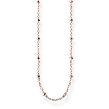 "Thomas Sabo ""round belcher chain"" rose nyaklánc KE1890-415-40"