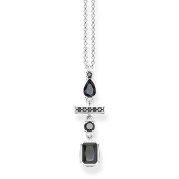 """Thomas Sabo """"black drop"""" nyaklánc KE1892-643-11"""