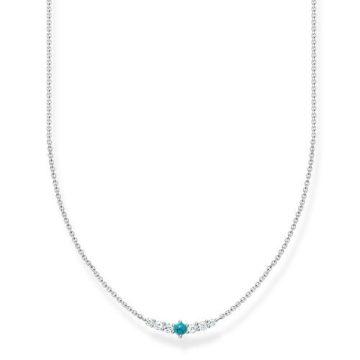 """Thomas Sabo """"Turquoise Stone"""" nyaklánc KE2093-405-17"""