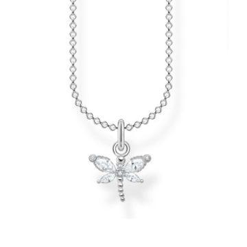 """Thomas Sabo """"Dragonfly white stones"""" nyaklánc KE2097-051-14"""