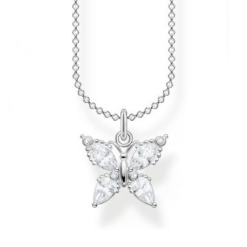 "Thomas Sabo ""Butterfly white stones"" nyaklánc KE2101-051-14"