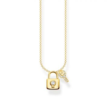 "Thomas Sabo ""gold lock with key"" nyaklánc KE2122-414-14"