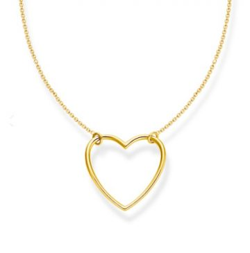 """Thomas Sabo """"gold heart"""" nyaklánc KE2138-413-39"""