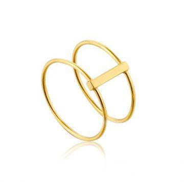 Ania Haie Modern Double Gyűrű R002-05G