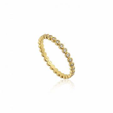 Ania Haie Shimmer Half Eternity Gyűrű R003-01G