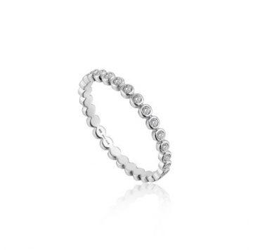 Ania Haie Shimmer Half Eternity Gyűrű R003-01H