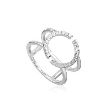 Ania Haie Spike Double gyűrű R025-01H