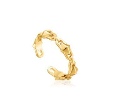 Ania Haie Spike Adjustable gyűrű R025-02G