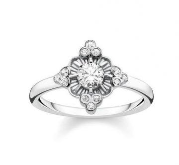 """Thomas Sabo """"royalty white"""" gyűrű TR2221-643-14"""