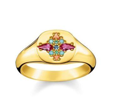 """Thomas Sabo """"colorful stones"""" gyűrű TR2231-996-7"""