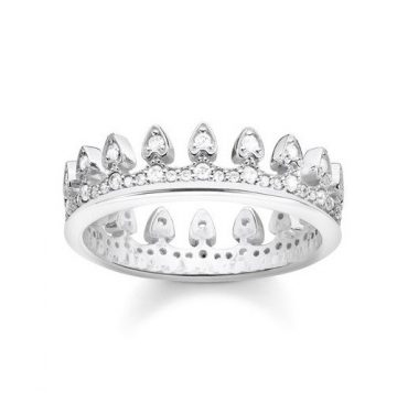 "Thomas Sabo ""crown"" gyűrű TR2235-051-14"