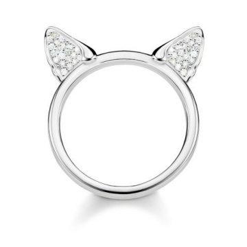 "Thomas Sabo ""cat's ears"" gyűrű TR2259-051-14"
