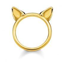"Thomas Sabo ""Cat's Ears"" Gyűrű TR2260-413-39"