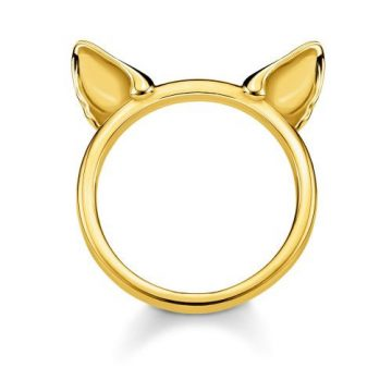 "Thomas Sabo ""cat's ears"" gyűrű TR2260-413-39"
