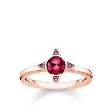 "Thomas Sabo ""lucky simbols"" rose gyűrű TR2263-540-10"
