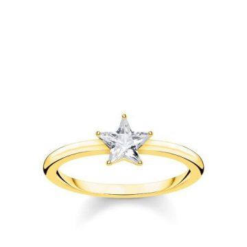"Thomas Sabo ""sparkling star"" gyűrű TR2270-414-14"