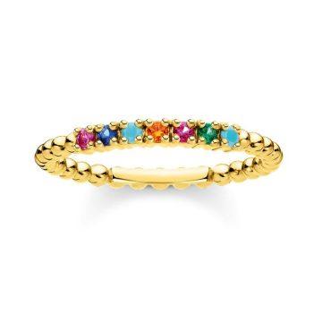 """Thomas Sabo """"colourful stones"""" gyűrű TR2323-488-7"""