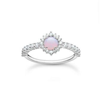 "Thomas Sabo ""opal-coloured stone"" gyűrű TR2344-166-7"