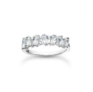 """Thomas Sabo """"White stones"""" gyűrű TR2346-051-14"""